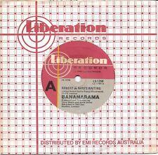 """BANANARAMA - ROBERT DE NIRO'S WAITING - 7"""" 45  VINYL RECORD - 1984"""