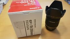 Canon Zoomlens 18 -200 IS EF-S 3,5 - 5,6