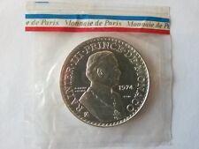 50 francs 1974 ESSAI Monaco sous blister monnaie de paris ARGENT module Hercule