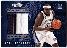Zach Randolph 2012-13 Panini Contenders Materials Jersey PATCH Grizzlies #d 4/10