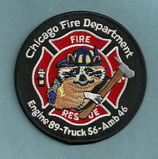 CHICAGO FIRE DEPARTMENT ENGINE 89 TRUCK 56 COMPANY PATCH