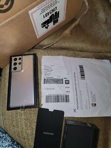 """Samsung Galaxy S21 Ultra 5G G9980 12/128GB Snapdragon 888 6.8""""  IP68 By FedEx"""