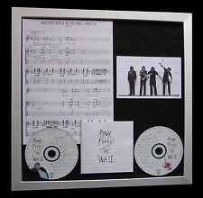 PINK FLOYD Another Brick In Wall TOP QUALITY CD FRAMED DISPLAY+FAST GLOBAL SHIP