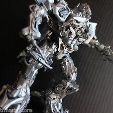 Custom Transformers Movie Leader Class Megatron Silver Metallic Paint