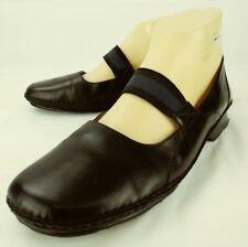 Circa Joan & David Wos Shoes US 9.5 M Black Leather Slip-on Mary Jane 5166