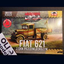 1/72 Polish Fiat 621 Army Truck w/AA Gun - First to Fight 017