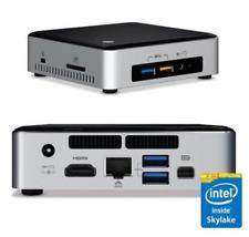Intel NUC 6i5SYK Mini HTPC, Core i5-6260U 2.9GHz, 8GB RAM, 120GB SSD, 4K - Used
