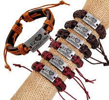 Wholesale 12pcs Handmade Leather EZ KURDISTAN Accessories Bracelet for Gift