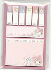 Sanrio My Melody Sticky Notes Tabs From Japan