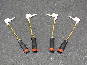 4PCS Front Rear Brake Pad Wear Sensors -Benz W211 W220  211 540 17 17