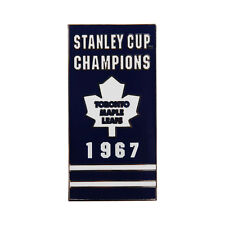 Toronto Maple Leafs 1967 Stanley Cup Champions Banner Pin