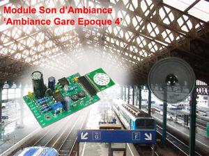 Module Son: 'Ambiance Gare Epoque 4/5'