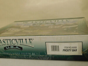 PLASTICVILLE * FROSTY BAR * SEALED * O / On30 Scale Train * NEW * FREE SHIP *