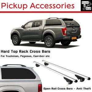 Pickup HardTop Roof Bars Cross Bar, Roof Rack - For Truckman, Carryboy etc...