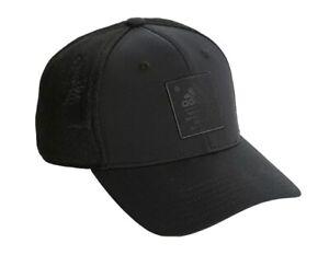 Adidas Arrival Adjustable Black Snapback Trucker Baseball Hat Cap NWT