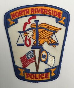 North Riverside Police, Illinois old shoulder patch