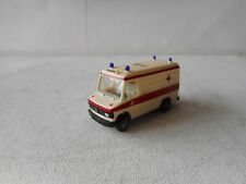 1:87 HERPA HO MERCEDES AMBULANCE BUS  GOOD CONDITION