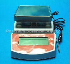 MS400 Hot Plate Magnetic Stirrer,120V/220V 50Hz,Max 400 Celsius Degree,US Plug