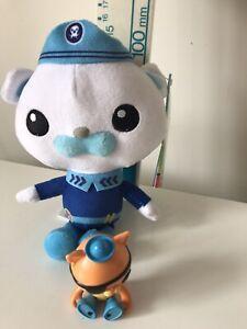 The Octonauts Kwazii Cat Figure And Barnicle Plush Soft Toy