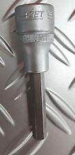 Hazet Schraubendreher Steckschlüsseleinsatz 1/2 8mm 986LG-8 Stecknuss Nuss
