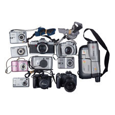 Lot Of 11 Digital Cameras And 1 Film Camera *Untested, No Batteries/Chargers*