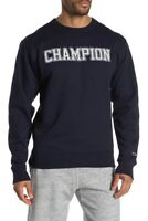 Champion Mens Hoodie Sweatshirt Graphic Print Navy size M new