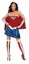 NEW Woman's DC Comics Deluxe Wonder Woman Adult Costume Small By Secret Wishes