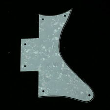 Custom Guitar Pickguard Fits Washburn WI64DL WI 64 DL Style ,4ply White Pearl