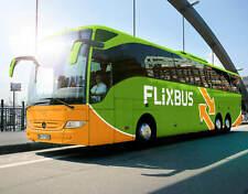 """Flixbus Freifahrt 2 JAHRE gültig,100%RABATT Ohne Umstieg  """"BITTE LESEN"""""""