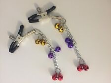 Nipple Clamps - Adult Sex Toys - Six Jingle Balls Nipple Clamps
