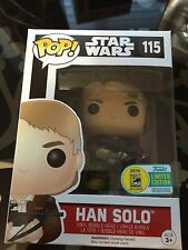 2016 SDCC Exclusive Funko Pop! Han Solo w/ Chewbacca Bowcaster