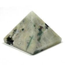 PYRAMID - MOONSTONE 25-30mm Crystal with Description Card - Healing Reiki Stone