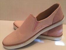 UGG Australia ADLEY STRIPE Canvas Fashion Sneakers US 9 EU40 #1016895 Pink (e4)