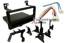 Car Stereo Radio CD Player Dash Installation Panel Kit Mount Trim Bezel Harness