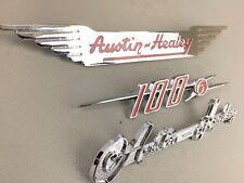 Austin Healey 100-6 BN4 BN6 emblem set brand new   **