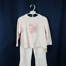 Absorba Girls 24M Clothes 2 Piece Set Pink  Pants and Top