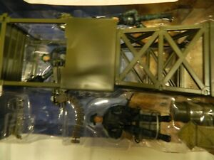 World Peacekeepers Look Out Tower Peterkin With 3 Articulated Figures New Old St