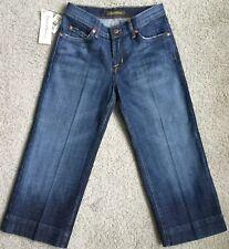 NWT David Kahn SHALENE GAUCHO Low Rise Capri Jeans   (26 X 20 1/2)  Sz 0    4989