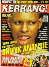 Skunk Anansie on Kerrang 1996     Rage Against The Machine