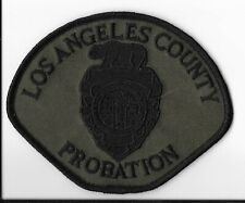 Los Angeles County Probation, California Subdued Shoulder Patch
