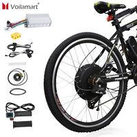 """1500W Bicyclette Électrique Moteur Kit Conversion Cyclisme Vélo Moyeu 48V 26 """""""