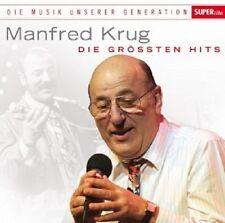 MANFRED KRUG - MUSIK UNSERER GENERATION-DIE GRÖßTEN HITS  CD NEU