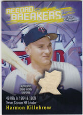 HALL of FAMER, GAME-USED CARDS, PART 1, A thru L, ALL NEAR MINT, YOU CHOOSE!
