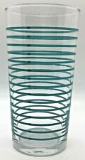 Libby Glassware Tall Tumblers Vintage