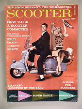 Scooter Magazine #5 - September, 1959 ~~ NSU Prima  ~~ scarce mc mag