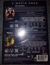 Coffret 2 films The Punisher/ Punisher: Zone de guerre (avec John Travolta) NEUF