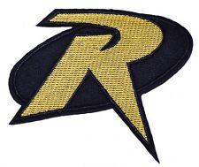 "DC Comics Robin Uniform Logo 3"" Tall Embroidered Patch"