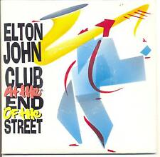 ELTON JOHN Vinyle 45T SP CLUB AT THE END OF THE STREET