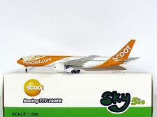 SKY500 Scoot Boeing 777-200ER 1:500 Reg. 9V-OTC (0734)