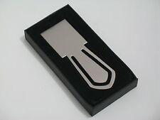 Lesezeichen Klammer Edelstahl 10 cm